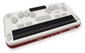 Foto del anotador Braille Sense U2